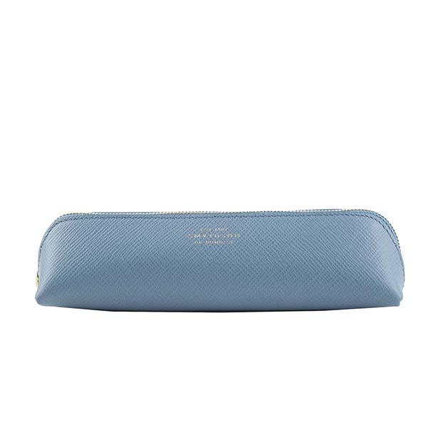 スマイソン 1011556 PANAMA ペンケース NILE BLUEブルー筆記用具【】【新品/未使用/正規品】