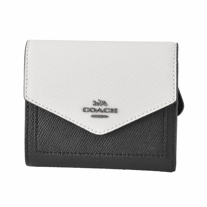 コーチ COACH 12123 GM/M2 カラーブロック 三つ折り ミニ財布  COLORBLOCK SMALL WALLET【r】【新品・未使用・正規品】