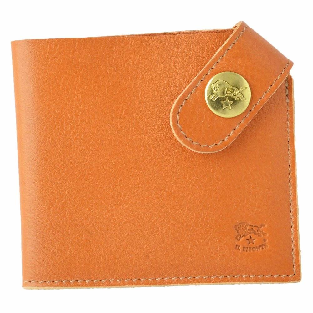 イルビゾンテ IL BISONTE C0783 145 Caramel 二つ折り財布 小銭入れ無し r新品・未使用・正規品qzUMpSGV