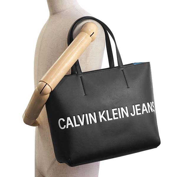 92bc0222aaa CUORE: Calvin Klein CK JEANS K60K605246 tote bag BK 001 | Rakuten ...