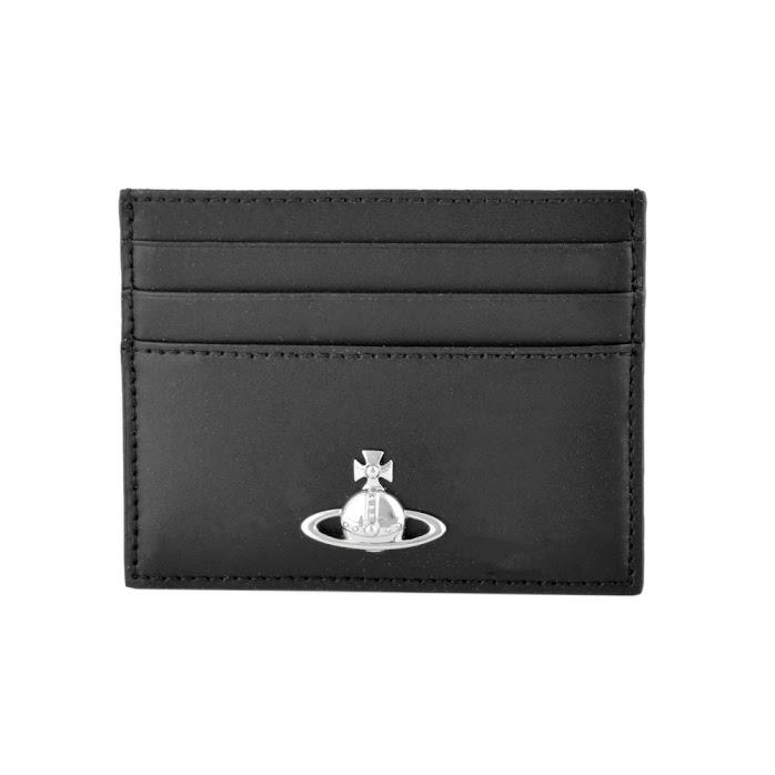 ヴィヴィアン ウエストウッド Vivienne Westwood 51110027 40242 N403 BLACK カードケース ALEX FLAT CARD HOLDER【r】【新品/未使用/正規品】