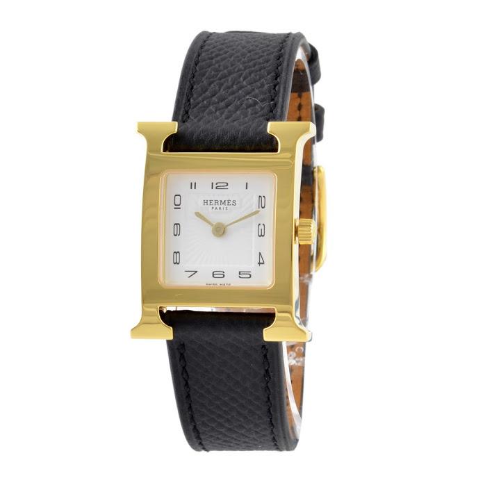 エルメス HERMES HH1.201.131/UU89 Hウォッチ レディース 腕時計【r】【新品・未使用・正規品】