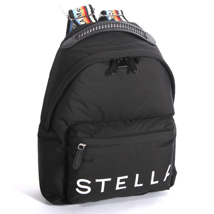 STELLA McCARTNEY ステラマッカートニー バックパック ブラック 594247 W8580 1000  リュックサック バッグ 【新品・未使用・正規品】売れ筋