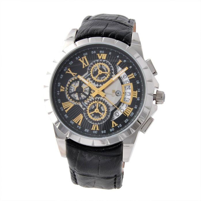 サルバトーレ・マーラ Salvatore Marra SM13119S-SSBKGD メンズ クロノグラフ 腕時計【r】【新品・未使用・正規品】