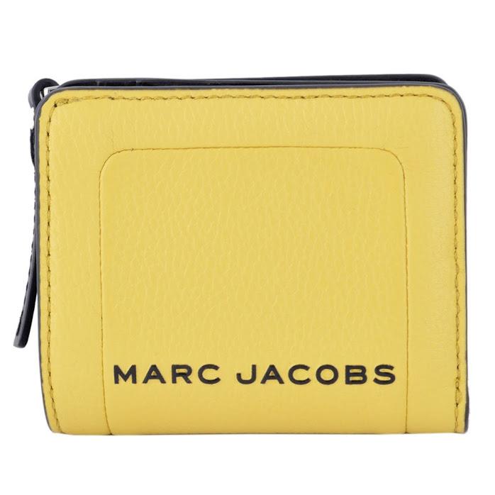 2020 マークジェイコブス MARC JACOBS M0015107-327 ザ テクスチャード ボックス ジップ 二つ折り ミニ財布 The Textured Box Mini Compact Wallet【r】【新品/未使用/正規品】