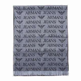 エントリーポイント10倍!アルマーニジーンズ ARMANI JEANS 934504 CD786 00041 マフラー【c】【新品・未使用・正規品】
