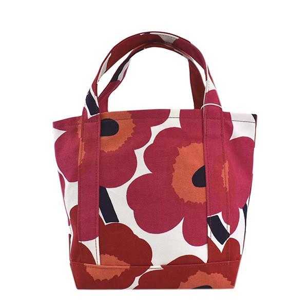 マリメッコ 048294 SEIDI ハンドバッグ RED 001レッド【】【新品・未使用・正規品】