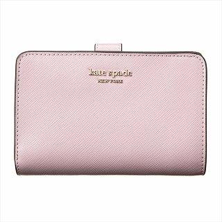 ケイトスペード KATE SPADE PWRU7748 955 二つ折り財布 ピンク【c】【新品/未使用/正規品】