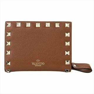 送料無料 2020 ヴァレンティノ VALENTINO ストア TW2P0620 BOL HG5 国内在庫 c 二つ折り財布 正規品 ブラウン 未使用 新品