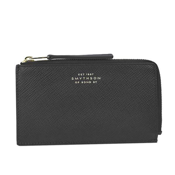 スマイソン 1023133 PANAMA カードケース BLACKブラック【】【新品/未使用/正規品】