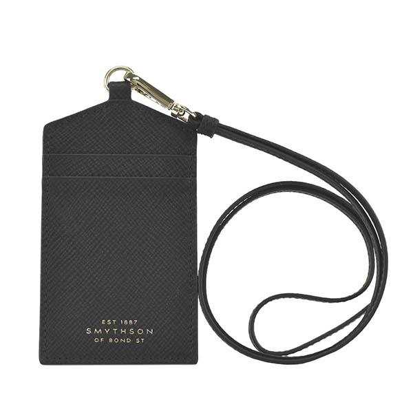 スマイソン 1026695 PANAMA タグホルダー BLACKブラック IDカードパスケース【】【新品/未使用/正規品】