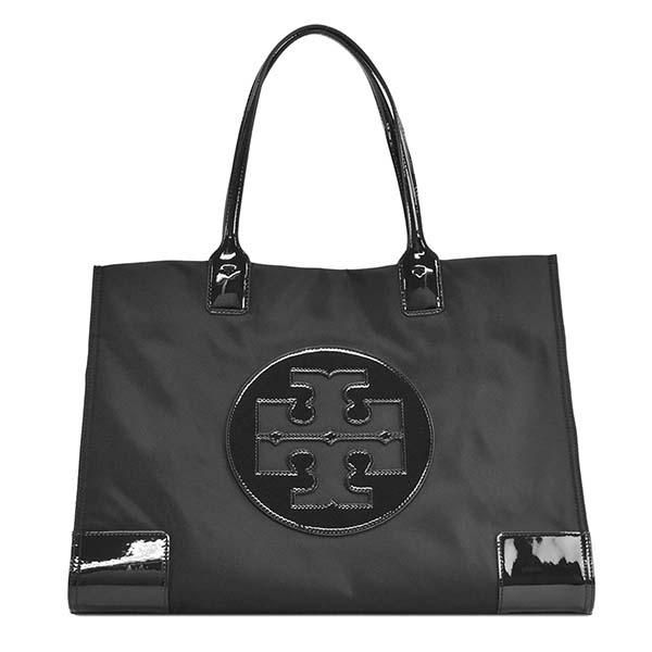 トリーバーチ 60978 ELLA PATENT BK 001 ブラック トートバッグ【】【新品/未使用/正規品】