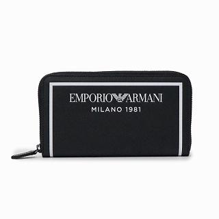 エンポリオアルマーニ EMPORIO ARMANI Y3H168 YSO3I 88007 ラウンドファスナー長財布【c】【新品・未使用・正規品】