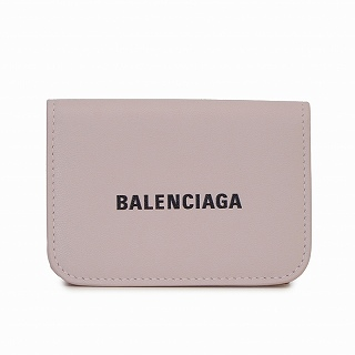 バレンシアガ BALENCIAGA 593813 1I313 5960 三つ折り財布 ピンク【c】【新品/未使用/正規品】