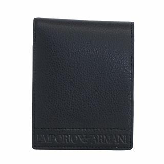 2020 エンポリオアルマーニ EMPORIO ARMANI Y4R165 YTQ5J 毎週更新 81072 c 正規品 メーカー再生品 新品 ブラック 未使用 二つ折り財布