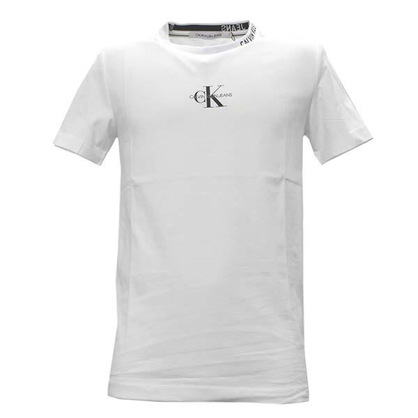 2021 エントリーポイント5倍 カルバンクラインジーンズ J30J315878 メンズTシャツ M 新品 YAFホワイト 正規品 安心の実績 高価 買取 強化中 WT 半袖 価格 未使用