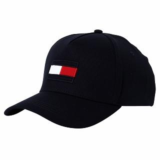 2021 トミーヒルフィガー TOMMY HILFIGER AM0AM06585DW5 CAPキャップ 帽子 c ネイビー フラッグ 新品 男女兼用 正規品 未使用 5%OFF