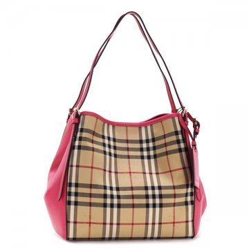 54bf7e244f2 CUORE  BURBERRY Burberry 3983060 SMCANTERBPAN HNC pink shoulder bag ...