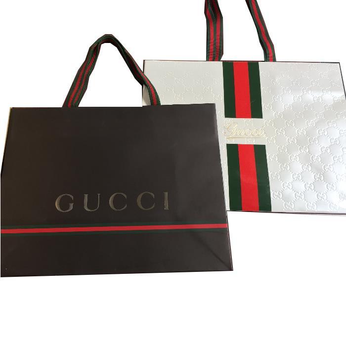 05c6823886b CUORE  GUCCI Gucci-limited paper sack lapping  S shopper shop bag ...