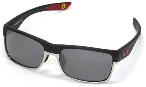 OAKLEY Oakley Sunglasses TWO FACE OO9256-08   TWO FACE Ferrari matte black  Black Iridium 830c75429a