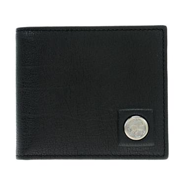 HUNTING WORLD 575 1233 BLACK 二つ折り財布(小銭入れ付)ハンティングワールド●【r】【新品・未使用・正規品】