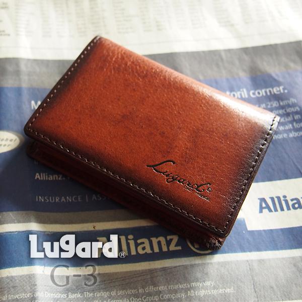 [青木鞄] G-3(ジースリー):ボックス型小銭入れ[5202] 【送料無料】 Lugard G3 *牛革 コインケース メンズ ブラック ブラウン ネイビー* 【ラッキーシール対応】