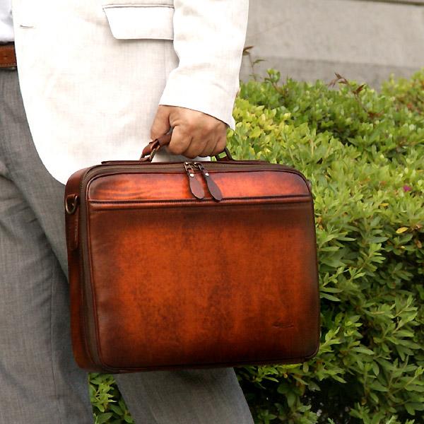 [青木鞄] G-3(ジースリー):A4対応 2wayブリーフケース[5220] 【送料無料/代引手数料無料】 Lugard G3 *日本製 牛革 ビジネスバッグ 鞄 メンズ ブラウン* 【ラッキーシール対応】