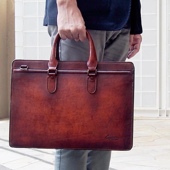 [青木鞄] G-3(ジースリー):A4対応 2wayブリーフケース[5228] 【送料無料/代引手数料無料】 Lugard G3 *日本製 牛革 ビジネスバッグ 鞄 メンズ ブラウン ネイビー ボルドー*