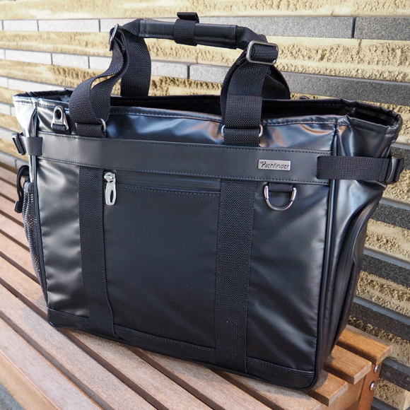 [パスファインダー] レボリューション3:A4対応 2wayトートバッグ L[5401] 【送料無料/代引手数料無料】 Pathfinder Revolution3 青木鞄 *デュラマックス・コンポジット・ファブリック ビジネスバッグ 鞄 メンズ ブラック*