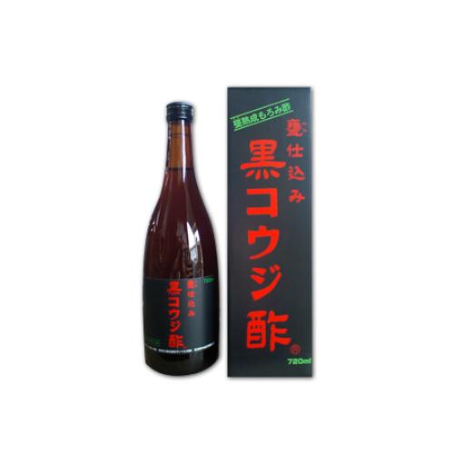 【6本セット送料無料】☆サンヘルス 黒コウジ酢 720mL×6本☆黒麹