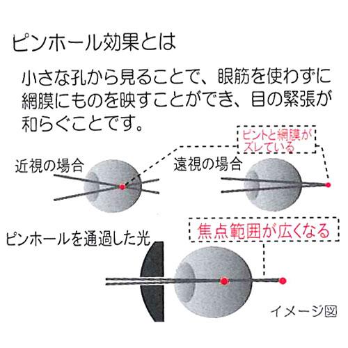 PC 眼 (PCI) (pinhormeganet ピンホールアイ 掩码针孔眼镜累的眼睛玩具的视线恢复眼镜视力恢复眼面具的视线恢复训练 PC 眼镜 pc 眼镜) fs3gm ★ 点 10 倍