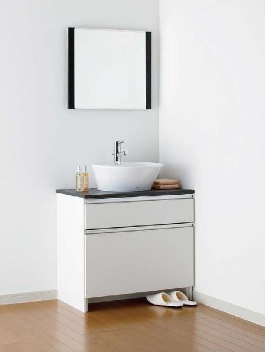 ジャニス工業 洗面化粧台 LU754CSDR-10/化粧鏡 LUM602CS 送料無料 【代引き不可】