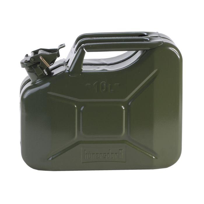 ヒューナースドルフ メタルキャニスター 10L【送料無料】hunersdorff Metal Kanister オリーブ ウォータータンク 燃料タンク