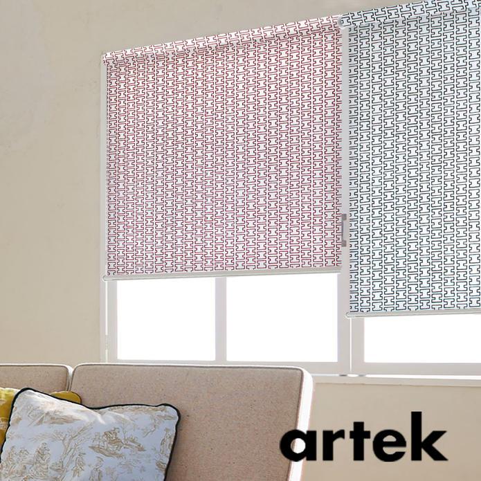 ロールスクリーン ロールカーテン アルテック Artek 北欧 H55 オーダー 小窓