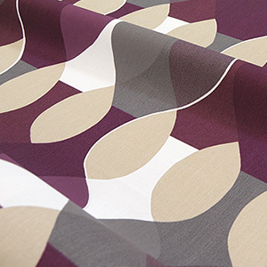 カーテン ボラスコットン boras cotton 北欧 北欧ブランドカーテン マラガ malaga かわいい おしゃれ 幅150 幅100 幅200 丈178 丈200 生地 フラット ストレート パープル ボロス