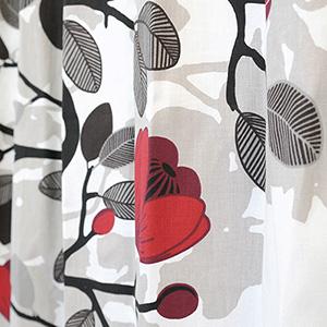 シェードカーテン ローマンシェード オーダー アルビッドソンズ ARVIDSSONS 北欧 オフィーリア 小窓 腰窓 おしゃれ かわいい 柄 綿 コットン