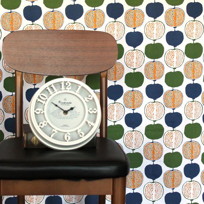 カーテン ワイデザイン Ydesign 北欧 北欧ブランドカーテン ポメグラ オーダー かわいい おしゃれ 幅150 幅100 幅200 丈178 丈200 生地 フラット ストレート グリーン