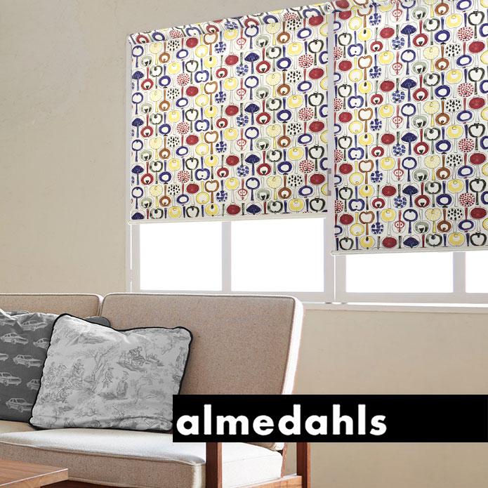 ロールスクリーン ロールカーテン アルメダールス almedahls ポモナ 北欧 オーダー 小窓