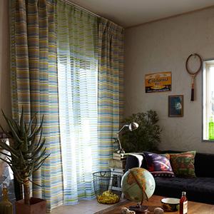 シェードカーテン ローマンシェード 小窓 オーダー プリムス