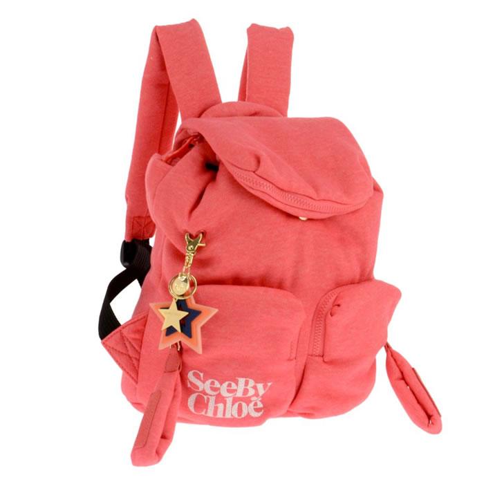 [5営業日後入荷]【宅配便送料無料】SEE BY CHLOE シーバイクロエ 9S7841-P249 BFT リュック レディース ブランド リュックサック バッグ カバン 鞄 バック bag