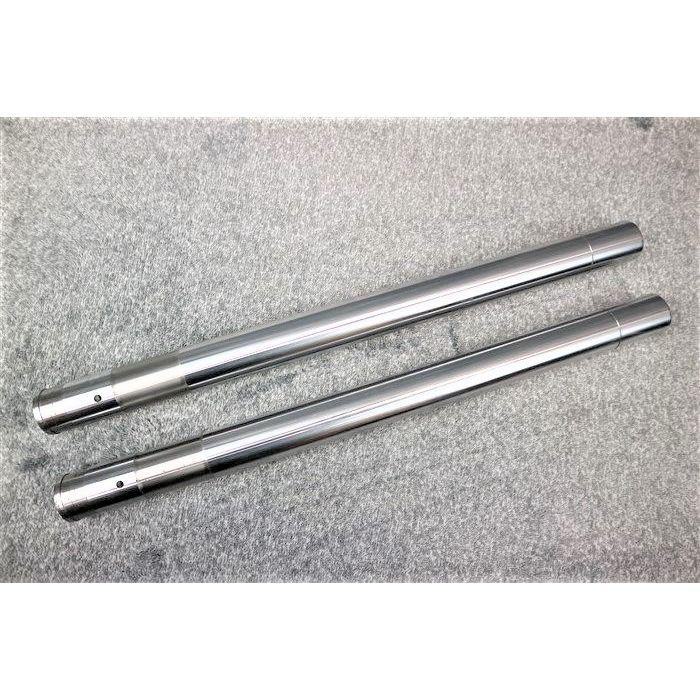 送料無料 新品 NSR250 41mmインナーチューブ 570銀 2本 フロントフォーク インナー 純正形状 MC21 正規激安 SE MC28 SP パイプ41π