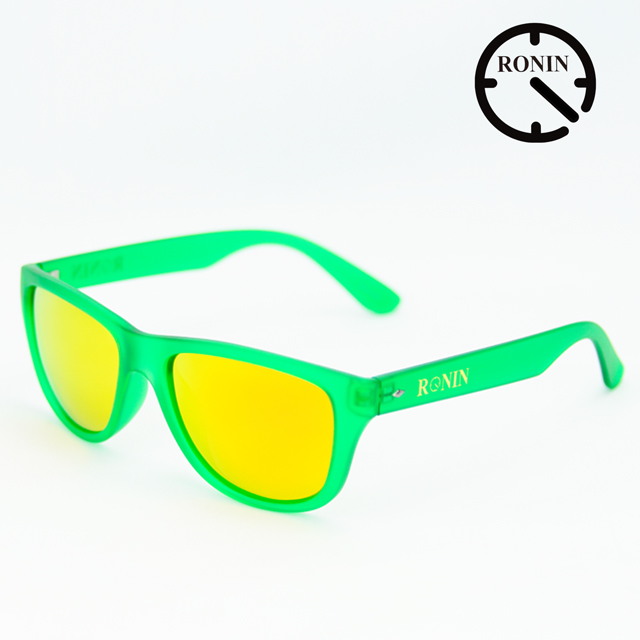 Ronin Eyewear ロニンアイウェアー Candy Green Orange/Miller スケートボード スケボー サーフィン ステッカー サングラス