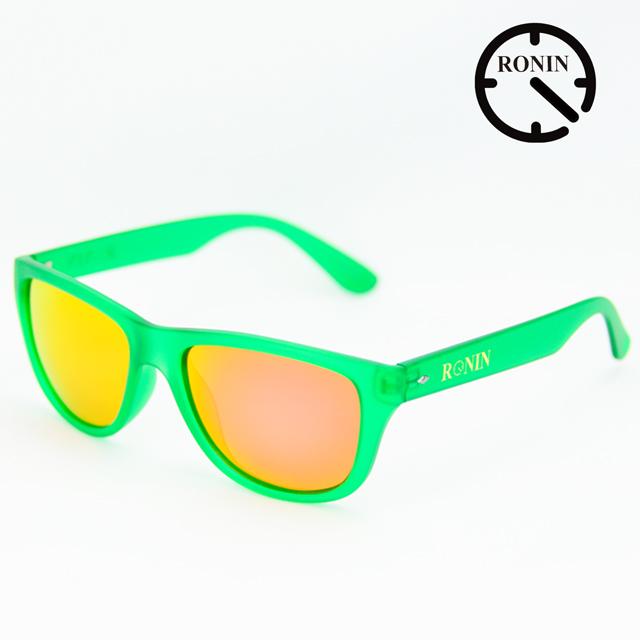 Ronin Eyewear ロニンアイウェアー Candy Green Red/Miller スケートボード スケボー サーフィン ステッカー サングラス