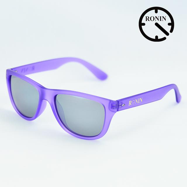 【超歓迎された】 Ronin Purple Eyewear ロニンアイウェアー Candy Purple Grey Grey/Miller Ronin/Miller スケートボード スケボー サーフィン サングラス, 下田町:6b0c3cb1 --- clftranspo.dominiotemporario.com
