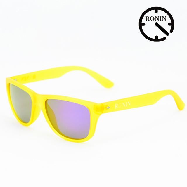 Ronin Eyewear ロニンアイウェアー Candy Yellow Purple/Miller スケートボード スケボー サーフィン ステッカー サングラス