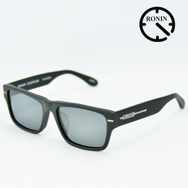 UVカット サングラス Ronin Eyewear ロニンアイウェアー  FLASH Mad Black / Gray Polarized Lens