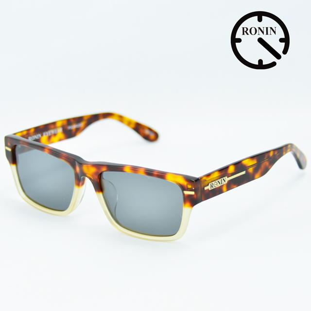 ロニン サングラスRonin Eyewear ロニンアイウェアー UVカット FLASH Amber/Clear Two tone color / Gray Polarized Lens