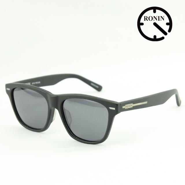 UVカット サングラス Ronin Eyewear ロニンアイウェアー NEW MAX Mad Black / Gray Polarized Lens