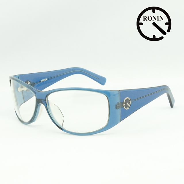 UVカット サングラス Ronin Eyewear ロニンアイウェアー Prototype NO.3 Clear Blue/Clear Lens