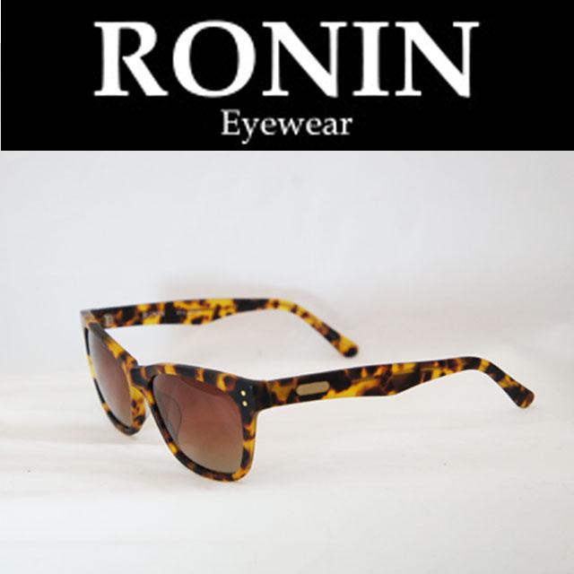 Ronin Eyewear ( ロニンアイウェアー ) Deluxe M.べっ甲色/Gradation P.Lens ( スケートボード スケボー サーフィン ステッカー) ( サングラス ロニンアイウェアースケート 限定品 )
